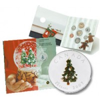 2007 Holiday Coin Gift Set